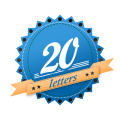 20 letters product