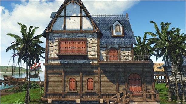 archeage review housing