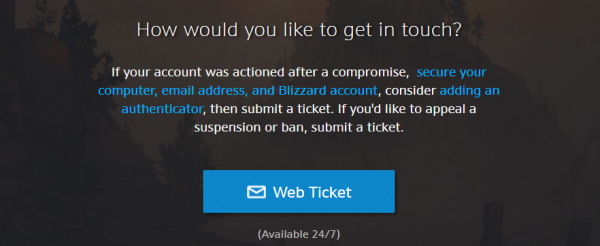 Unban a WoW Account